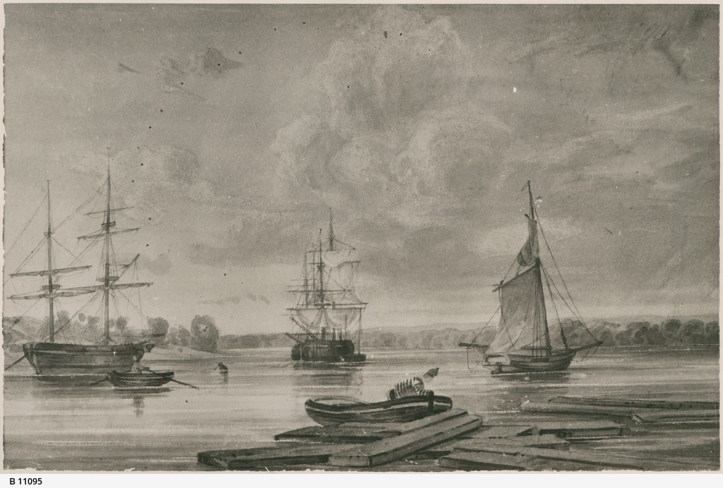 View of Port Adelaide. - Photograph courtesy of the State Library of South Australia