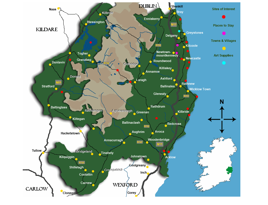 Wicklow map