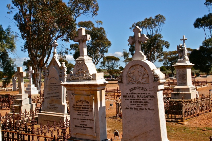Michael & Bridget Naughton graves