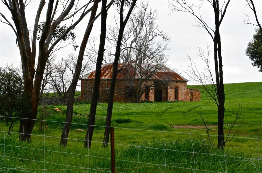 Hayes' farm ruins