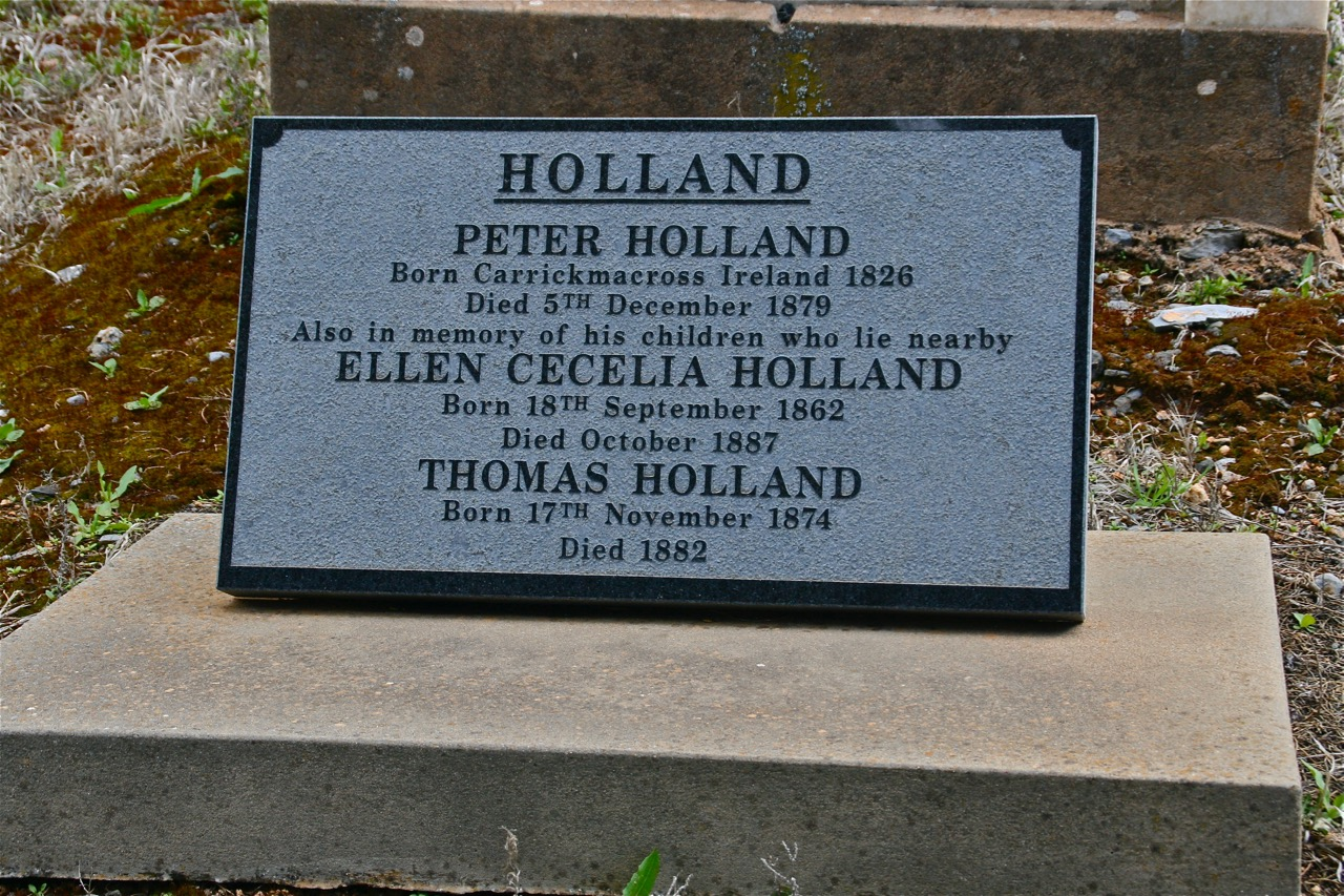 Peter Holland grave